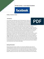 e Business Facebook