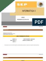 INFORMATICA-II