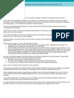 ISO 20000 artículo revista calidad