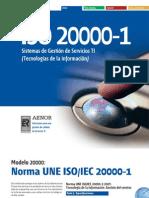 Certificación ISO 20000