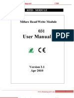 CM031 User Manual