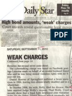 High bond amounts, 'weak' charges  - The Daily Star Hammond