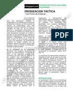 La Periodizacion Tactica