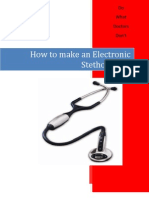 How to Make Stethoscope
