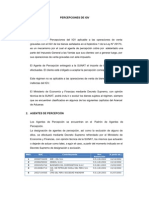 PERCEPCIONES DE IGV
