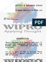 Wipro Analysis