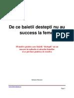 Therealman.ro - De Ce Baietii Destepti Nu Au Succes La Femei