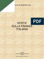 La verità sulla finanza italiana - Paolo Sella