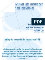 Need Analysis of Life Insurance