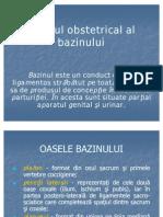 Studiul Obstetrical Al Bazinului