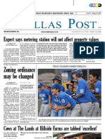 The Dallas Post 07-31-2011