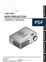 Projector Manual 4338