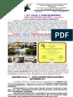 admitere-master-2011 CONSTRUCTII