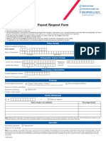 Payout Request Form