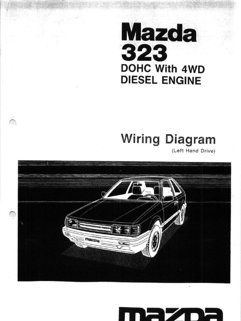 Mazda 323 Turbo Bf2