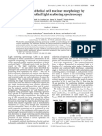 Assessing Epithelial Cell Nuclear Morphology using Azimuthal Light Scattering Spectroscopy