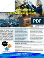 3-day LEAN MAINTENANCE & LEAN PLANT MANAGEMENT Training Event in Johannesburg