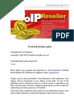 Worldcall Reseller Guide En