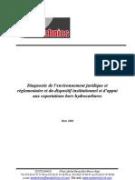 Diagnostic de La Rglementation Des Export at Ions Hors Hydrocarbures (1)