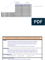 site projects - progress log form