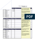 to-do list for projects form