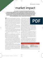 Almgren-equity Market Impact