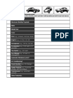 vehicle checklist form