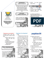 Leaflet Diabetes Militus Maju Tgl 4 April 2011
