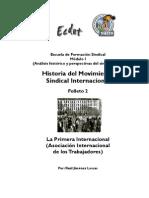 Historia Del Movimiento Sindical