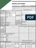 Pds Form (Rev. 2005)