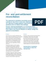 Pre Post Settlement
