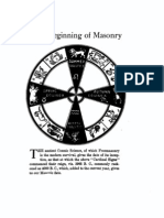 Higgins - The Beginning of Masonry