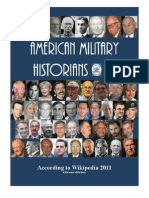 American Military Historians 2011 Part One