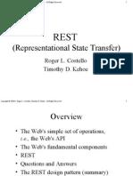 api_rest | Representational State Transfer | Json