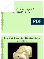 Surgical Anatomy of the Skull Base