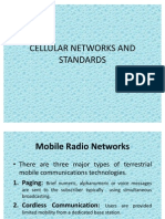 Cellular Networks and Standards