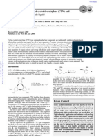 Clean, Efficient Syntheses of Cyclotriveratrylene (CTV) And