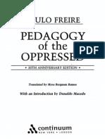 Paulo Freire - Pedagogy of the Oppressed
