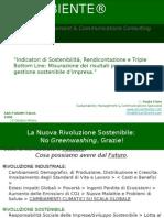 SAS FORUM ITALIA 23 Ottobre 2008 - Presentazione Sostenibilità