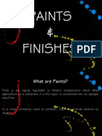 Paints and Finishes