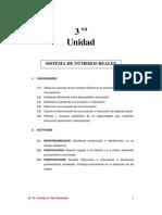 SISTEMA DE NÚMEROS REALES PARA PDF