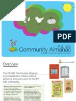 PS333 Community Almanac Concept