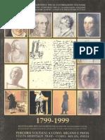 1799-1999 Percorsi voltiani a Como, Milano, Pavia