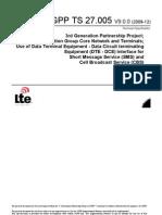 3GPP TS 27.005 V9.0.0 (2009-12)
