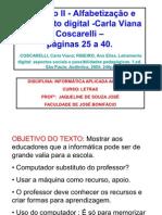 Capítulo II - Alfabetização e letramento digital -