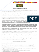 REGIME DE COMPETÊNCIA CONTÁBIL