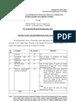 Instructions HCS(JB)2011
