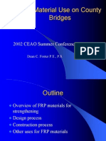 FRP Material Use on County BRIDGE
