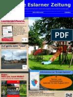 Die Erste Eslarner Zeitung, Ferienausgabe 2011