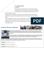 What is Service Leadership